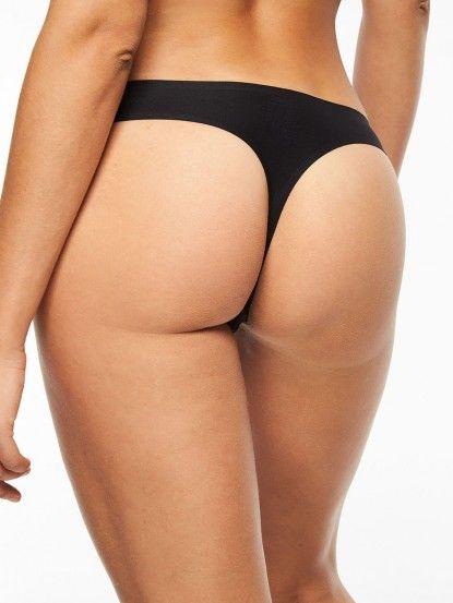 chantelle-one-size-thong-black