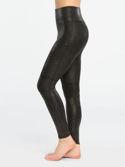 Spanx Moto Faux Leather Legging