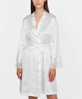 Satin Bridal Robe